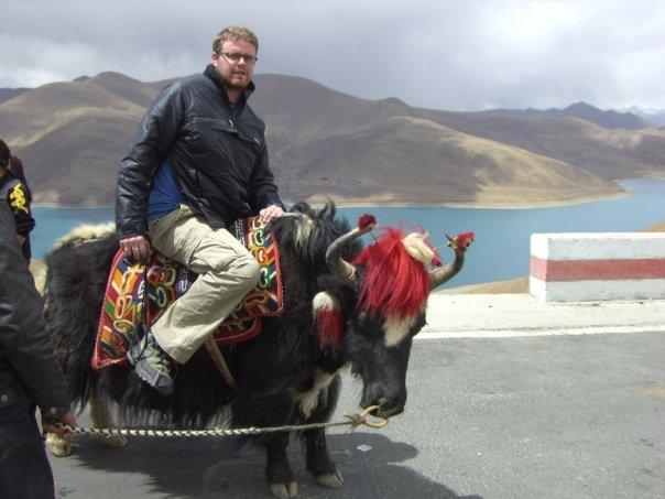 Dan also wrangles yaks